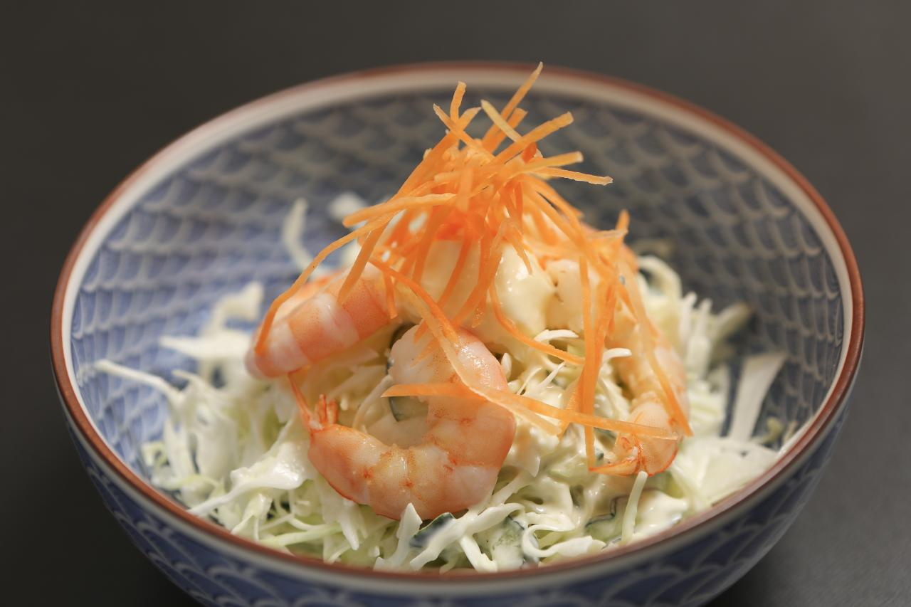 【shrimp with mayonnaise】